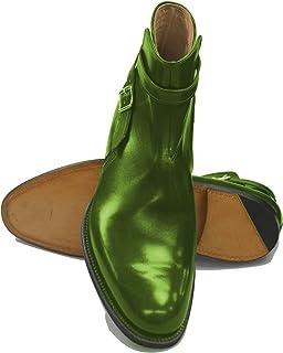 Bottes d'équitation italiennes faites à la main Goodyear – sur mesure – Conero