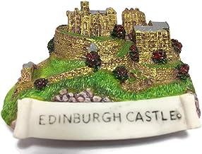 Scottish aimant de réfrigérateur château d/'Édimbourg Ecosse Souvenir Cadeau Résine Monuments