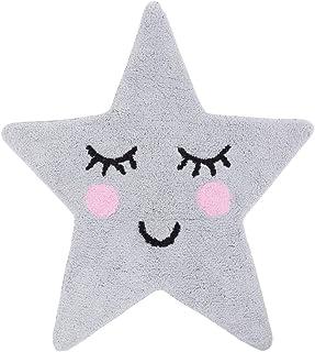 comprar comparacion Sass & Belle Dulces Sueños - Alfombra, diseño Estrella, Color Gris