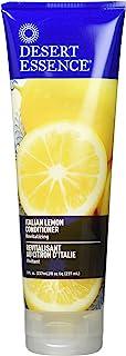 Desert Essence Italian Lemon Conditioner - 8 Fl Ounce - Revitalizing Hair Detangler - Adds Volume - Shine & Strength - Sce...
