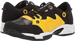 Black/Yellow/White