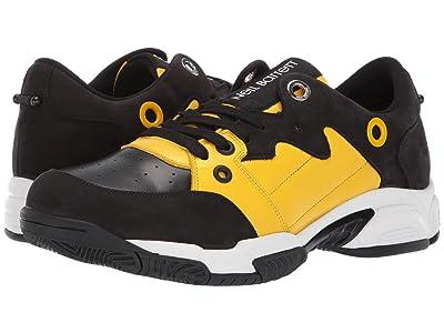 Neil Barrett Brutalist Sneaker (Black/Yellow/White) Men
