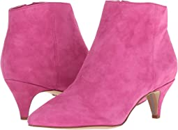 Retro Pink Kid Suede Leather