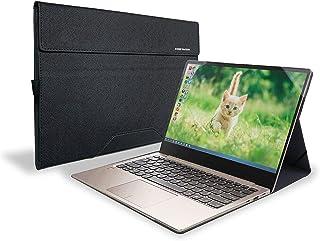 Honeymoon ケースカバー Dell XPS 13 7390/9310 2イン1 13インチ用 PUレザーフォリオスタンドケース Dell XPS 13 9310/7390 2イン1 13.4インチ用 [XPS 13 7390/9310 ...