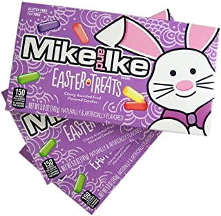 Mike and Ike Easter Treats Chewy Assorted Fruit Flavored Candy, 5 oz (Pack of 3)