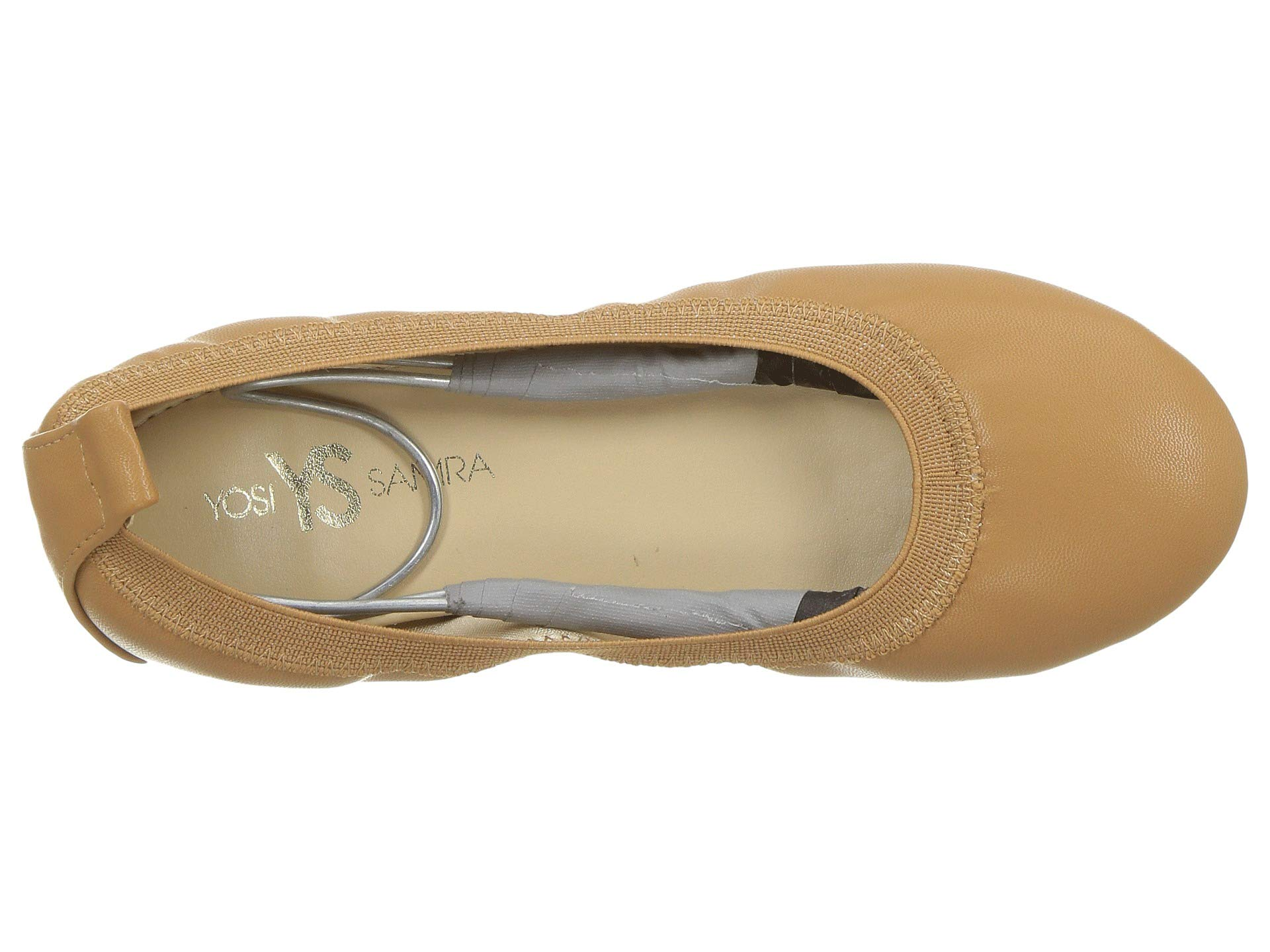 yosi samra kids miss samara nappa ballet flat (toddler/little kid/big kid)