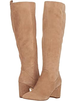 Women's Knee High Suede Boots + FREE