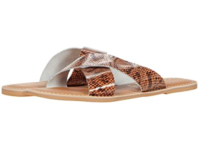 Matisse Pebble (Brown Snake Leather) Women