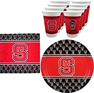 NC State Wolfpack Party Pack - 48 pieces
