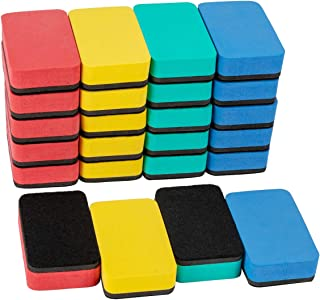 ANPHSIN 32 Pieces Magnetic Whiteboard Erasers- 3'' x 2