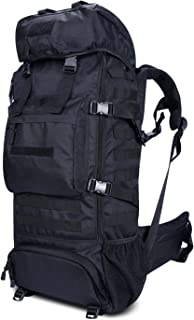 Gonex 70L Outdoor Hiking Backpack, Tactical Military Molle Backpack Assault Pack