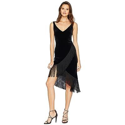 Nanette Lepore Legendary Slip Dress (Black) Women