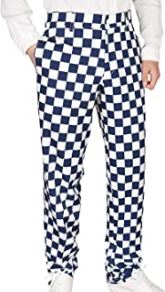 Men's Golf Pants Tapered Stretch Tech Relaxed Fit Chino Pant Lightweight Twill Pants