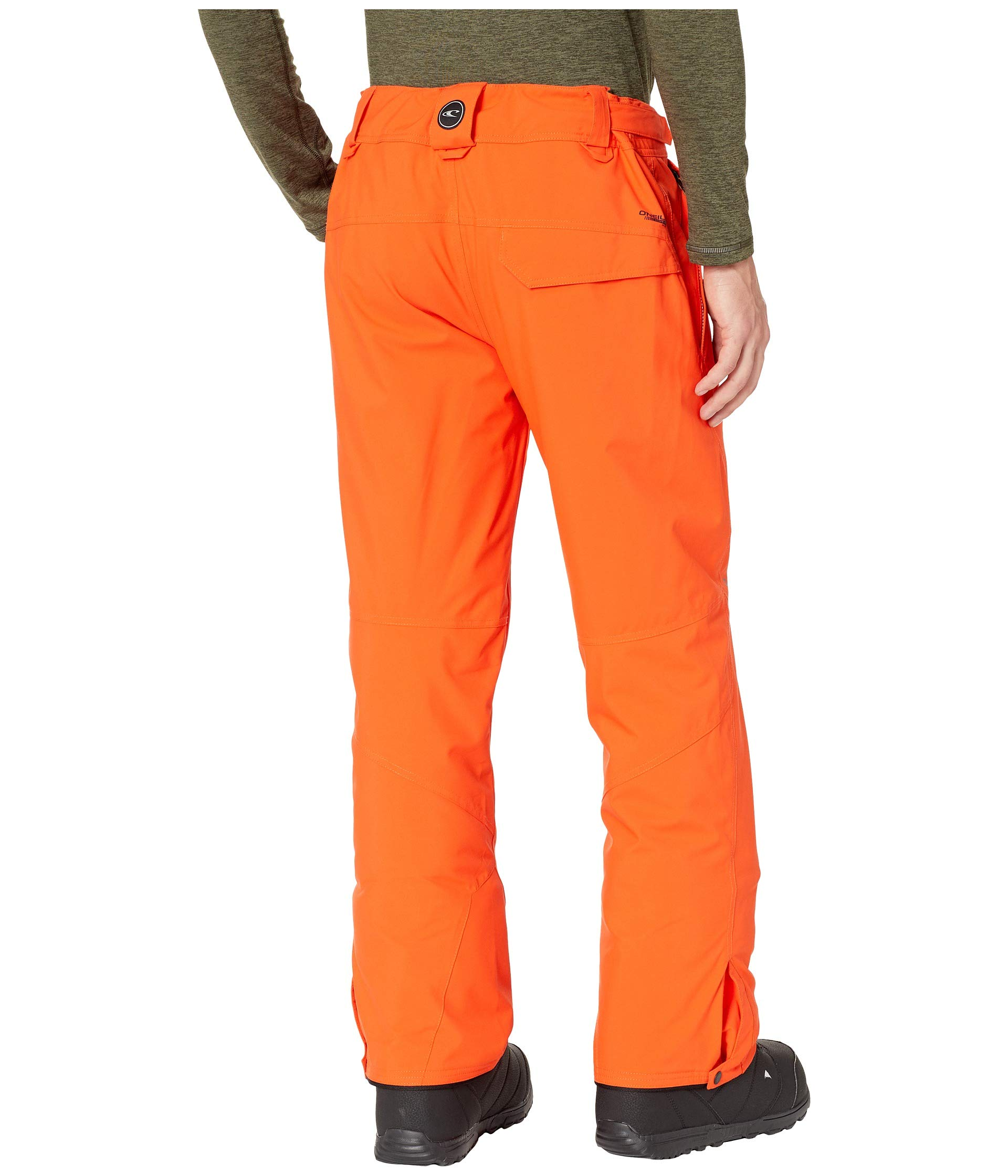 Bright Hammer Insulated Orange Pants O'neill q7vBwxftq