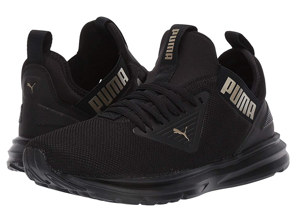 PUMA Enzo Beta (Puma Black/Metallic Gold) Women's Shoes