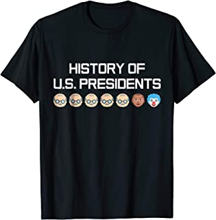 history of presidents t shirt