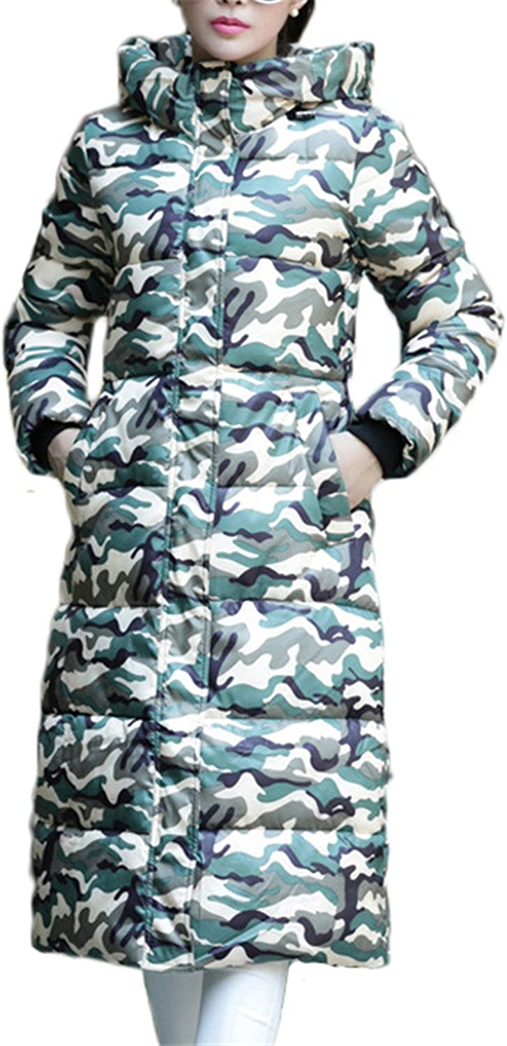 Dapengzhu Fashion Winter Jacket Women New Print Thick Warm Female Jacket Cotton Coat