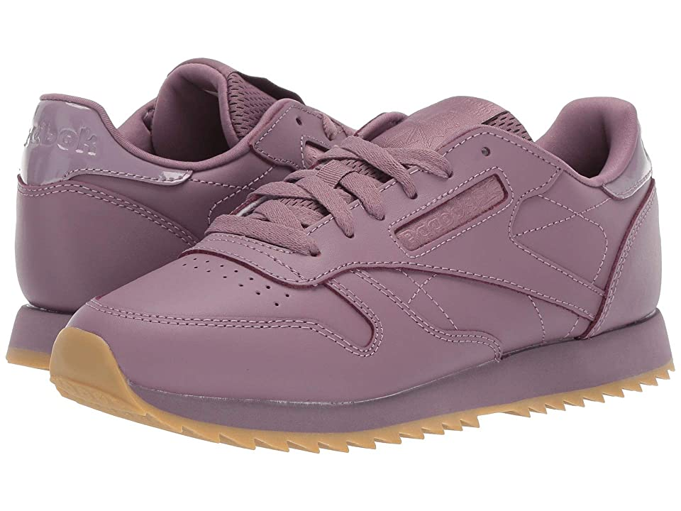 Reebok Lifestyle Classic Leather Ripple (Mid Noble Orchid/Gum) Women