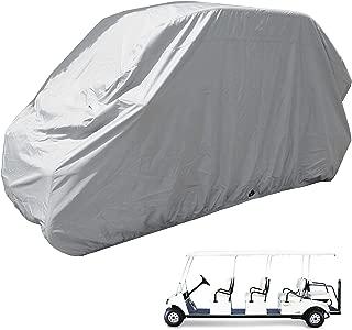 Golf Cart 8 Seater Storage Cover (Grey or Taupe), Fits EZGO, Club car, Yamaha Model, Chrysler/Polaris GEM e6