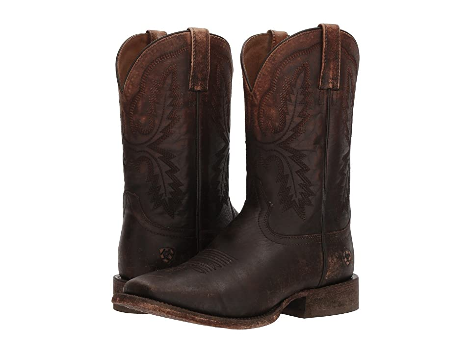 Ariat Circuit Dayworker (Naturally Distressed Brown) Cowboy Boots