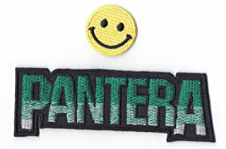 Pantera Applique Embroidered Iron on Patches by PATCH CUBE …