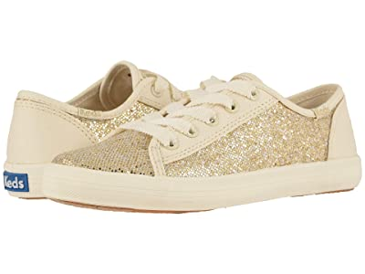 Keds Kids Kickstart Seasonal (Little Kid/Big Kid) (Metallic Sparkle) Girl