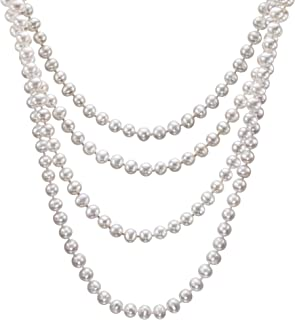 Best solitary pearl necklace Reviews
