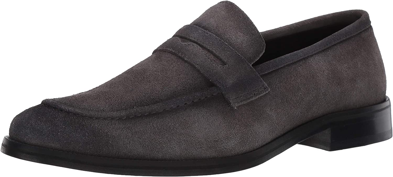 MARC Cheap mail order specialty store JOSEPH NEW YORK Men's Peeny Leather Gold Max 86% OFF Loafer Collection