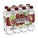 Arrowhead Sparkling Water, Raspberry Lime, 16.9 oz. Bottles (Pack of 8)
