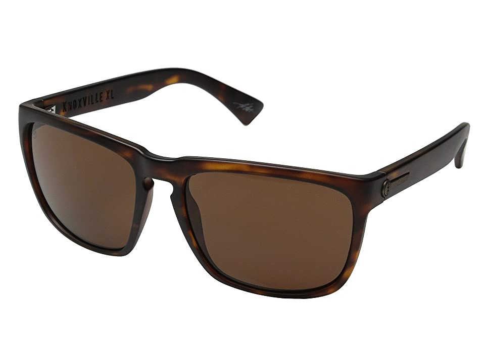Electric Eyewear Knoxville XL (Matte Tort/Ohm Bronze) Sport Sunglasses