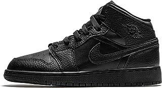 Nike Air Jordan 1 Mid (GS), Chaussure de Basketball Garçon