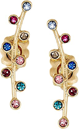 Rebecca Minkoff - Bubble Stone Ear Climber Earrings