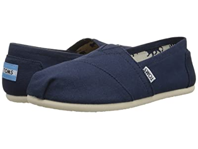 TOMS Classics (Navy Canvas) Women