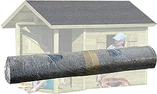 Gartenpirat rollo con 7,5 m² de tela asfáltica arenosa