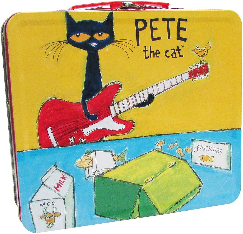 Kids Preferred 91200 Pete The Cat Retro Tin Lunch Box