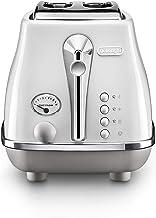 De'Longhi Icona Capitals 2 Slice Toaster, White, CTOC2003W