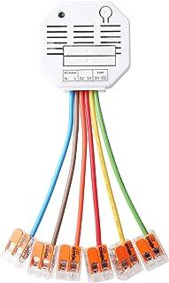 Lupus-Electronics 12128 Rolluikrelais V2 voor automatisch (handmatig, tijd of temperatuur gestuurd) van je schaduwen via d...