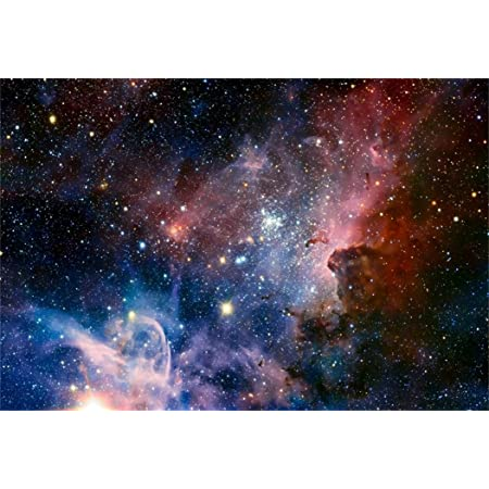 AOFOTO 10x12ft Starry Night Sky Photography Background Nebula Backdrop Dreamy Star Universe Galaxy Abstract Outer Space Kid Boy Girl Child Adult Artistic Portrait Photo Studio Props Vinyl Wallpaper