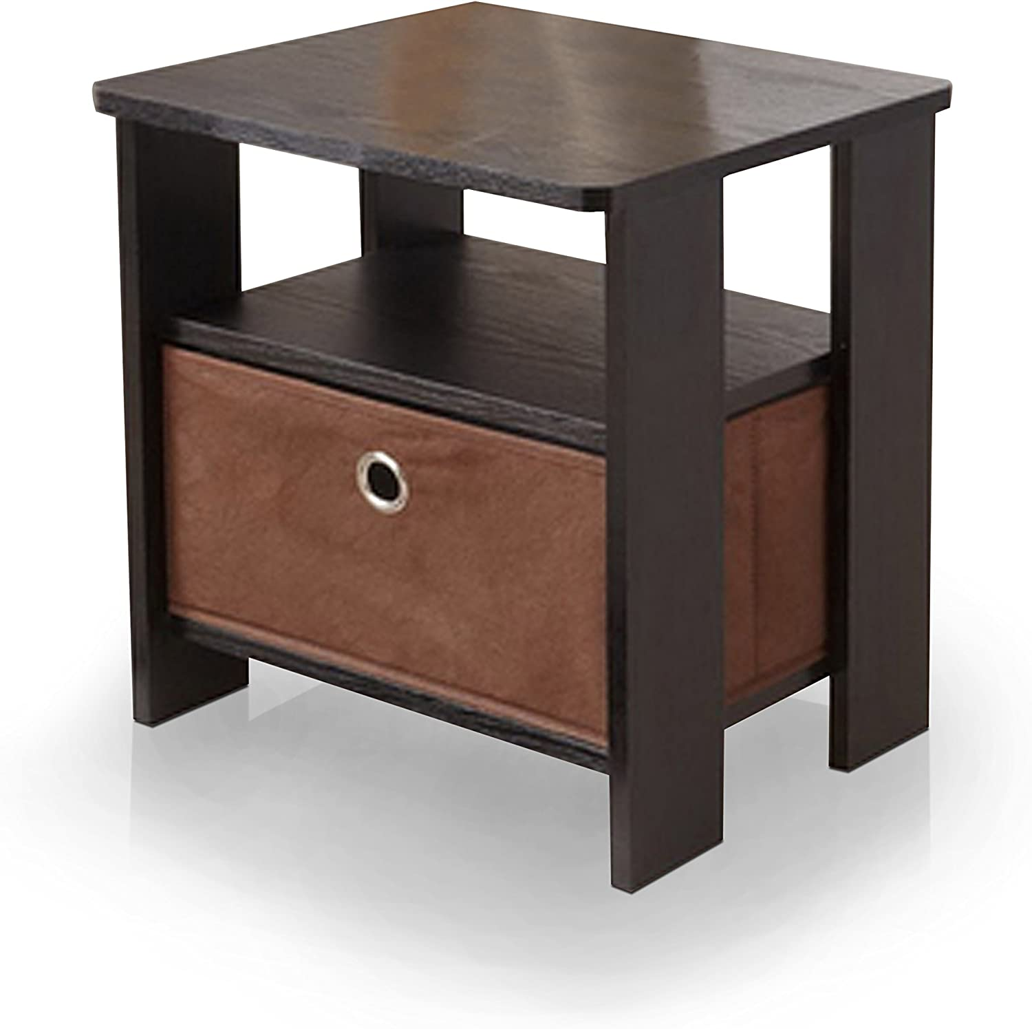 HOMES  Inside + Out Homes Henra Black End Table