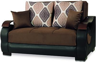 Fantastic Amazon Com Casamode Mobimax Loveseat Orange Chenille Inzonedesignstudio Interior Chair Design Inzonedesignstudiocom