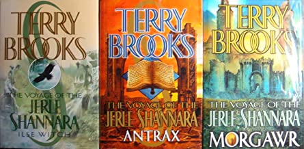 The Voyage of Jerle Shannara Trilogy: Ilse Witch, Morgawr, Antrax (Set of 3 Books)