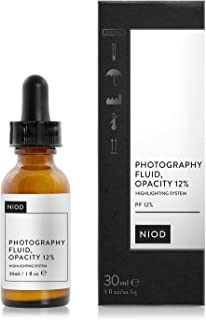 NIOD Photography Fluid, Colourless, Opacity 12% (30ml),