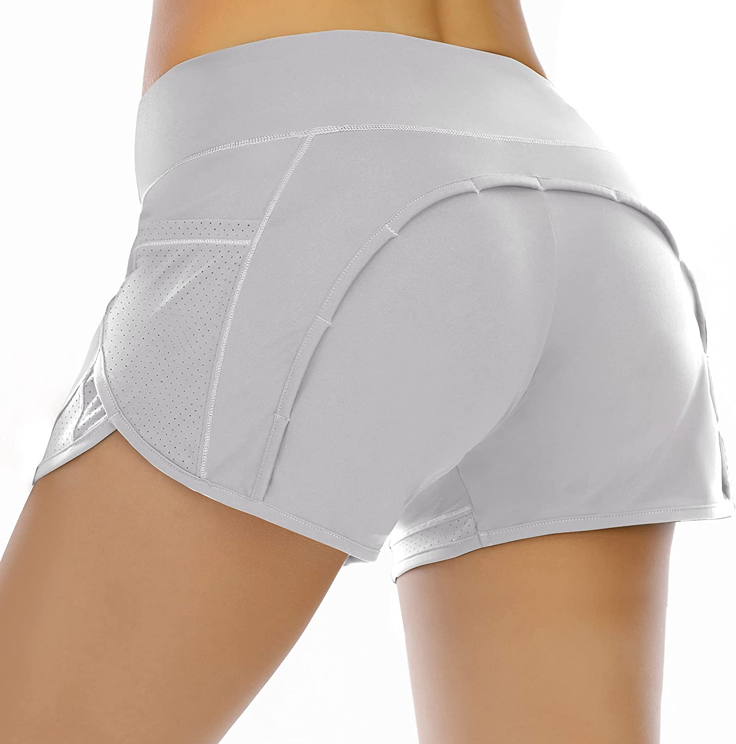Heathyoga Quick Dry Running Shorts for Large-scale sale Workout Popular shop is the lowest price challenge with Women