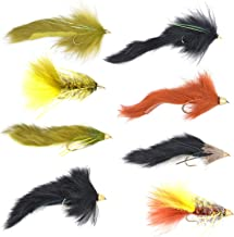 2QTY BLOCK HEAD CHARTREUSE  Fly Fishing Flies size 6