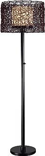 Kenroy Home 32220BRZ Tanglewood Outdoor Floor Lamp, 59 Inch Height, 16 Inch Diameter, Bronze