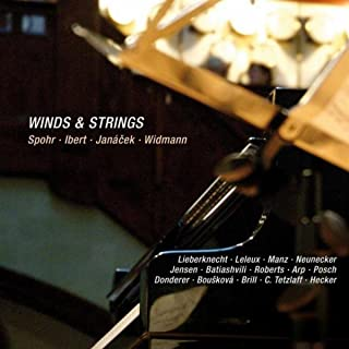 Winds & Strings: Spohr, Ibert, Janacek & Widmann (Live)