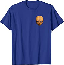 Alien Doll Prop Shirt Left Chest