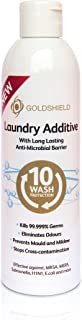 Antibacterial Laundry Additive - NHS Grade Antimicrobial Odor Removal Disinfectant Laundry Wash Additive - 250ml GS5 by GoldShield
