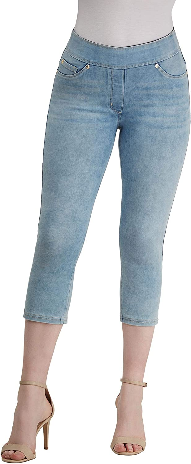 LUXE DENIM SLIMS Capris Selling Side Slit with Popularity