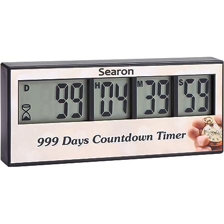 999 Days Countdown Clock Timer Days Event Reminder For Wedding Retirement Labora